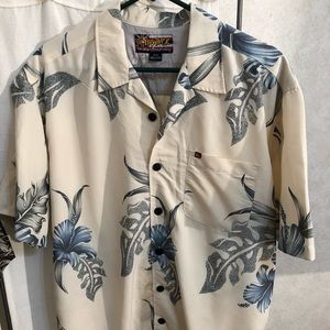 Quicksilver Hawaiian Board Riding shirt